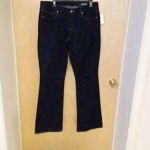 NWT Gap 1969 size 14 dark deinm jeans